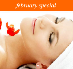 February Special at Pezula Spa