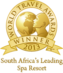 AFRICA'S LEADING SPA RESORT at the 2013 World Travel Awards